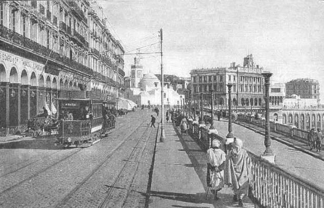 Alger filmée en 1905